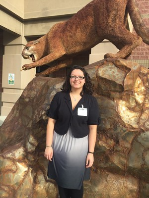 caldwell high schoolus national hispanic scholar angelina was selected for recognition by the national hispanic recognition program a prt of the college